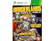Borderlands Triple Pack X360