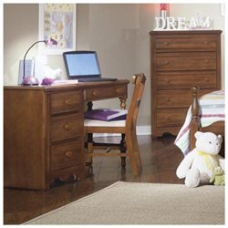 Carolina Crossroads Collection 4-Drawer Student Desk