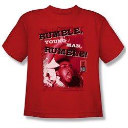 Youth(8-12yrs) ALI Short Sleeve RUMBLE XLarge T-Shirt Tee