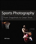 In Sports Photography: From Snapshots to Great Shots, author and sports photographer Bill Frakes shows you how to capture the key elements of sports photographs–motion and emotion, style and scene, place and purpose–whether you're at a baseball tournament, a track meet, or a professional football game