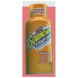 Sqwincher 2 Ounce Ready To Drink Bottles Steady Shot Orange Energy Drink 12ct