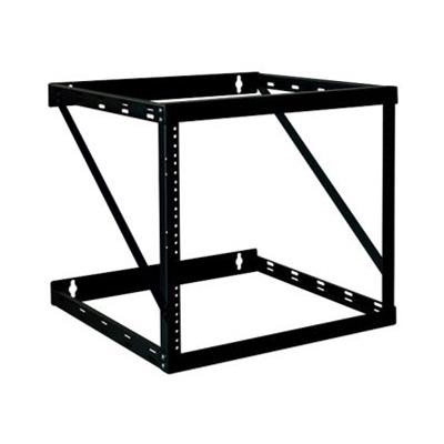 Tripplite Srwo12uhd 12u Wall Mount Open Frame Rack Cabinet Wallmount Heavy Duty - Rack - Open Frame - Wall Mountable - Black - 12u - 19
