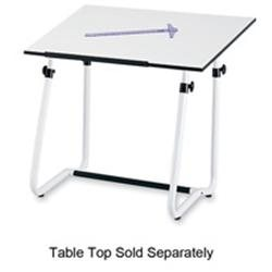 Vista Drawing Table Base with Footrest