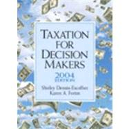 Taxation for Decision Makers : 2004