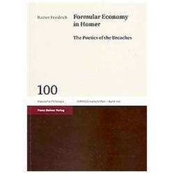 Formular Economy in Homer