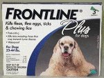 Frontline 89-132-3pk-ps Application Plus For Dogs And Puppies 89-132lb