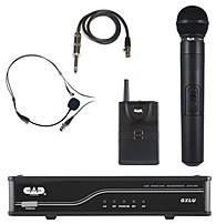 Please enjoy the easy and exciting performance that the GXL Wireless Series provides for your next performance using CAD Audio GXLUHB K UHF Wireless Combo System