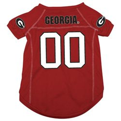 Georgia Bulldogs NCAA Mesh Pet Jersey (Small)