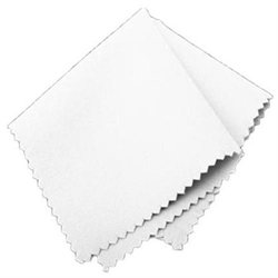 Lot 5 Microfiber Computer LCD Lens camera Cleaning Cloth white