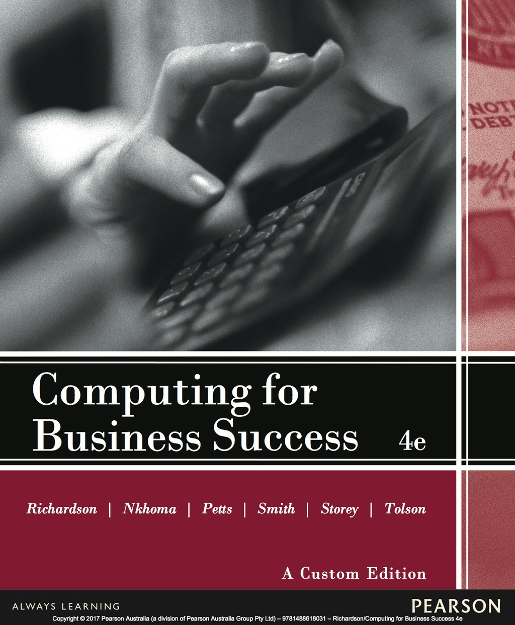 By Joan Richardson PRINTISBN: 9781488618031 E-TEXT ISBN: 9781488618031 Edition: 4
