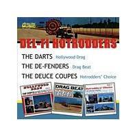 The Darts/The De-Fenders/Deuce Coupes - Hollywood Drag/Drag Beat/Hotrodders Choice (Music CD)