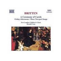 Benjamin Britten - A Ceremony Of Carols (New London Childrens Choir) (Music CD)