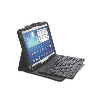 Kensington K97156us Keyfolio Pro - Keyboard And Folio Case - Bluetooth - Us - Black - For Samsung Galaxy Tab 3 (10.1 In)