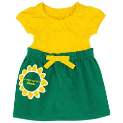 Oregon Ducks NCAA Infant Girls Daisy Dress