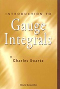 This book presents the Henstock/Kurzweil integral and the McShane integral