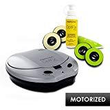 Memorex OptiFix Pro Motorized CD/DVD Scratch Repair Kit for CD/DVD Music, Movies, Game Discs