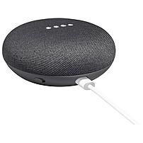 Google Home Mini Smart Speaker - Wireless Speaker(s) - Charcoal - 360? Circle Sound - Wireless Lan - Bluetooth - Voice Command, Multi Device Pairing, Chromecast, Chromecast Audio, Micro Usb Port, Smart Home Hub, Built-in Microphone - Google Assistant Supp Ga00216-us