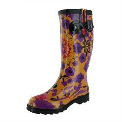 Chooka Kaleidoscope Garden Women's Rain Boots Rubber Wellies