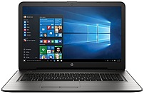 Hp W2m98ua 17-x051nr Laptop Pc - Intel Core I3-6100u 2.3 Ghz Dual-core Processor - 6 Gb Ddr3l Sdram - 1 Tb Hard Drive - 17.3-inch Display - Windows 10 Home 64-bit - Silver