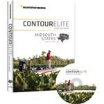 """""""Humminbird Contour Elite - MidSouth States - Version 3 Brand New, The Humminbird 600010-3 is a Contour Elite - Midsouth States - Version 3 map card"""
