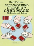 Close-up card magic is performed right under the noses of the spectators