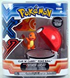Pokemon X & Y TOMY Clip 'n' Carry Poke Ball ~ Charmander Figure