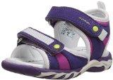 umi Vela Sandal (Toddler), Purple/Multi, 22 FR(6.5 M US Toddler)