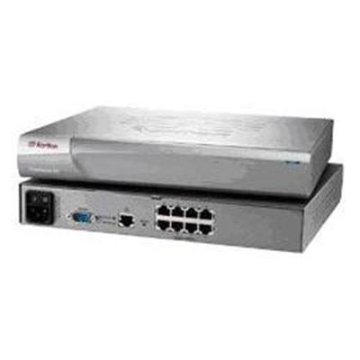 Raritan Computer Dsxa-8 Dominion Sx Dsxa-8 - Console Server - 8 Ports - 10mb Lan  100mb Lan  Serial - 1 X Mdm 56 Kbps - 1u