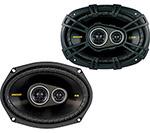 Kicker 40cs6934 3-way Coaxial Car Speakers