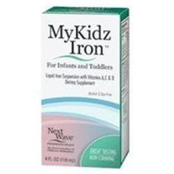 Mykidz Iron Liquid Suspension With Vitamins - 4 Oz