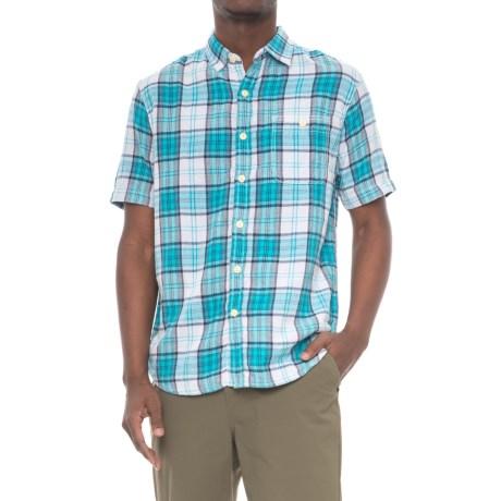 Plaid Pocket Shirt - Short Sleeve (for Men)