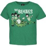 The Beatles - Baby-boys Cartoon T-shirt - 3t Green