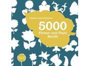 5000 Flower & Plant Motifs Pap/cdr