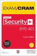 CompTIA® Security  Exam Cram, Fourth Edition, is the perfect study guide to help you pass CompTIA's newly updated version of the Security  exam