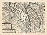 Antique Map-ZUID HOLLAND-BRABANT-NETHERLANDS-Colom-1635