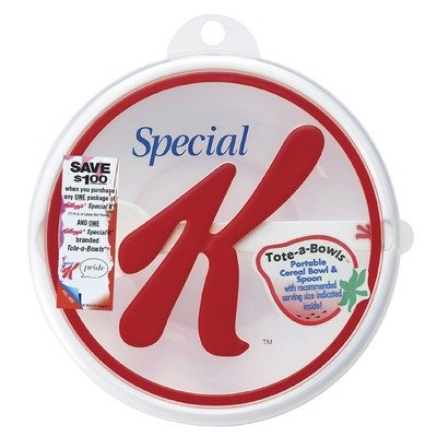 Kellogg's Special K Travel Bowl and Spoon