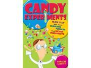 """Candy Experiments Binding: Paperback Publisher: Andrews McMeel Pub Publish Date: 1/1/2013 Synopsis: A full-length book based on the author's award-winning """"Candy Experiments"""" article in Mothering magazine instructs young science enthusiasts on how to use extra holiday candy for educational purposes, demonstrating how common candies can be tested, observed and used as materials in dozens of experiments that reflect elementary scientific principles"""