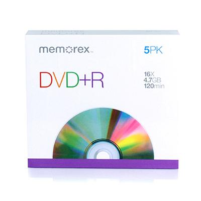 Imation 05622 Dvd r 4.7gb 16x 5-pack With Slim Cases