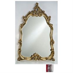 Afina Corporation TT-122-SV Timeless Traditional 25 in.x 36 in.Wall Mirror with Bevel Mirror - Antique Silver
