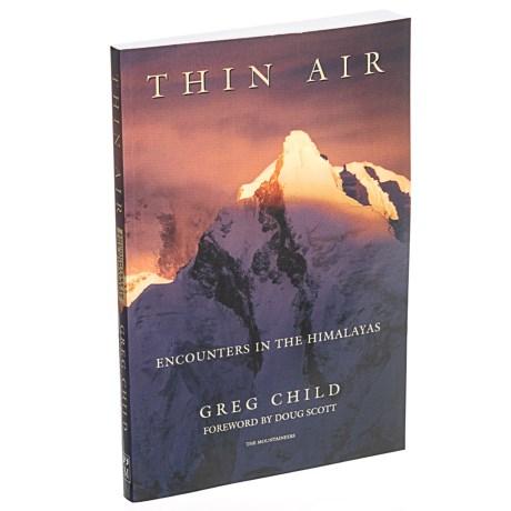 Thin Air Book - Paperback