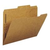 Folder W/Fasteners, Letter, Kraft