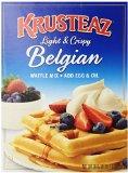 Krusteaz Light & Crispy Belgian Waffle Mix, 28 oz