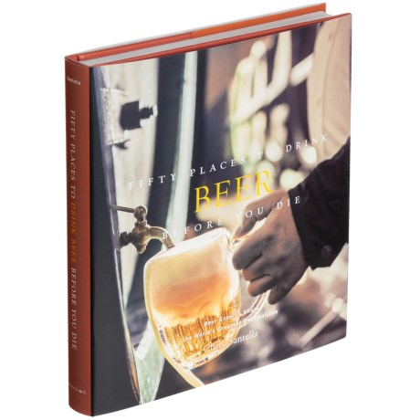 Fifty Places To Drink Beer Before You Die, Hardcover Book