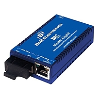 Imc Minimc-gigabit Twisted Pair To Fiber Media Converter - 1 X Rj-45 , 1 X Sc - 1000base-t, 1000base-lx 855-10736