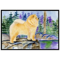 Chow Chow Indoor Outdoor Mat 18x27 Doormat