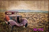 7x5ft Decadent car Pictorial cloth Customized photography Backdrop Background studio prop M-192