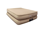 Aerobed 78713 Luxury Collection Raised Pillowtop Inflatable Air Mattress Bed, Queen Size