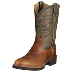 Ariat Heritage Crepe Cowboy Boots Tan Mens 10002565