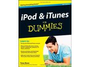 iPod & iTunes For Dummies (For Dummies (Computers)) Binding: Paperback Publisher: John Wiley & Sons Inc Publish Date: 2012-01-06 Pages: 432 Weight: 640.00 ISBN-13: 9781118130605 ISBN-10: 111813060X
