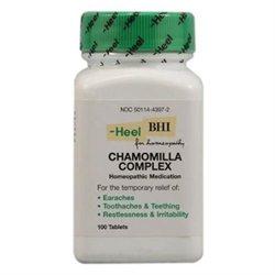 Heel BHI, Chamomilla Complex, 100 Tablets
